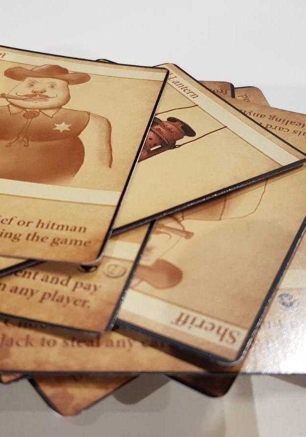 Duendo Cards Pile